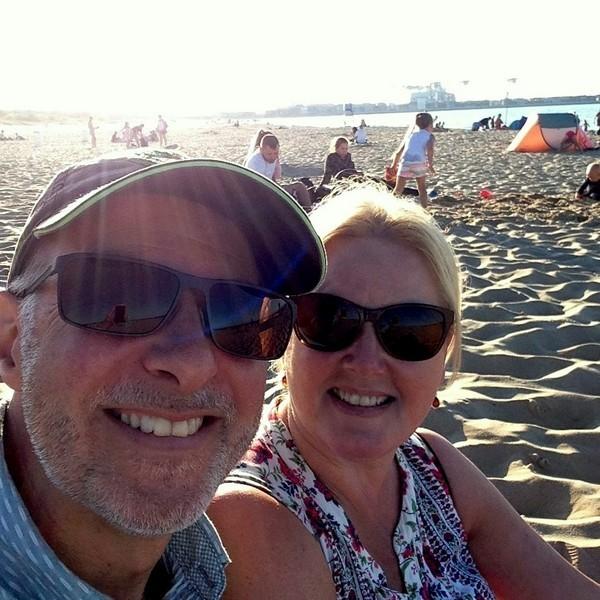 selfie beach